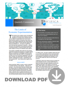 Newsletter Icon - reaching the limits of economic experimentation